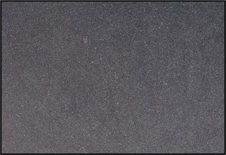 湯じわ・湯流れが見えにくいアルミダイカスト材用、半光沢黒アルマイト